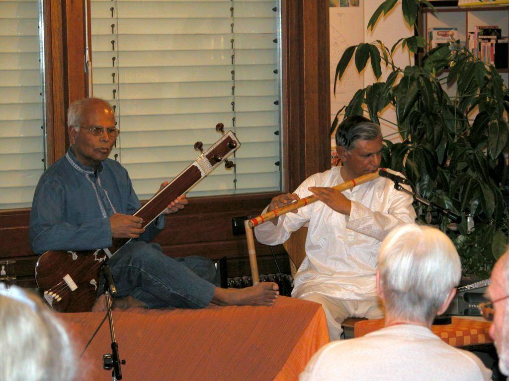 Concert at City Library Stuttgart-Feuerbach 2004