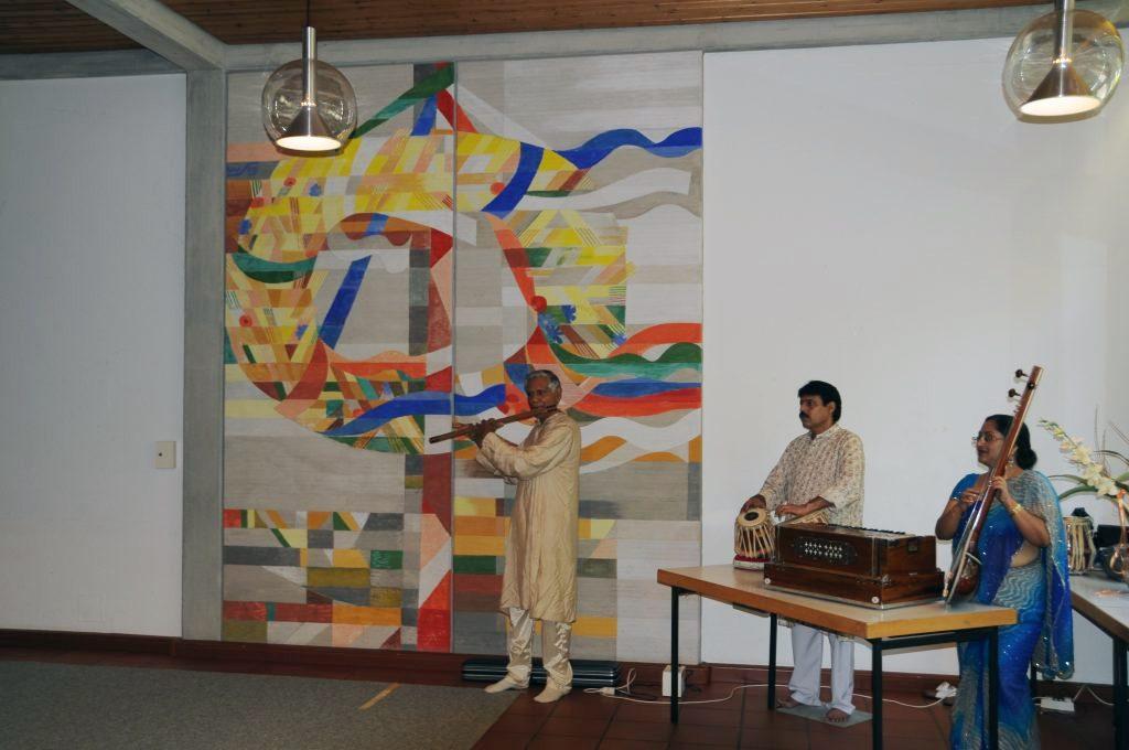 Music Prog. at Child Centre, Stuttgart-Leinfelden 2009