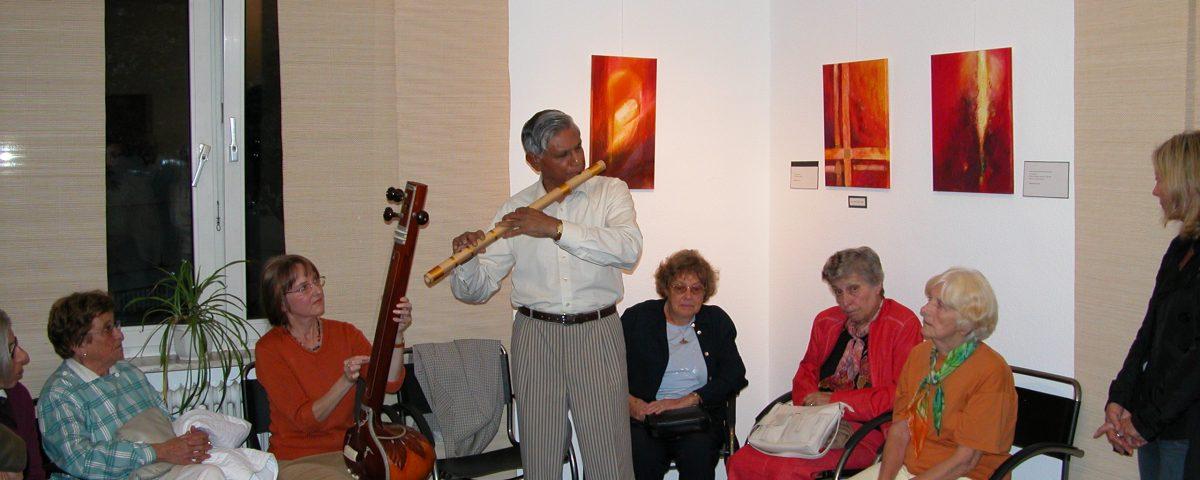 Concert, Picture Exhibition, Waiblingen 2006