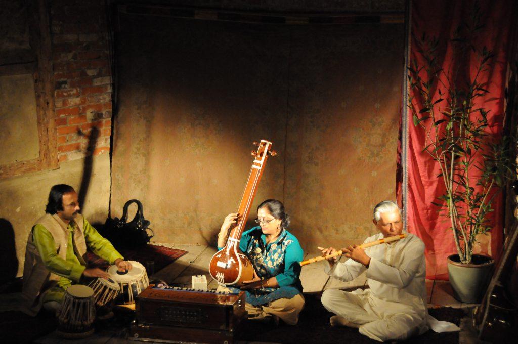 Performance at Theater am Faden, Stuttgart 2011