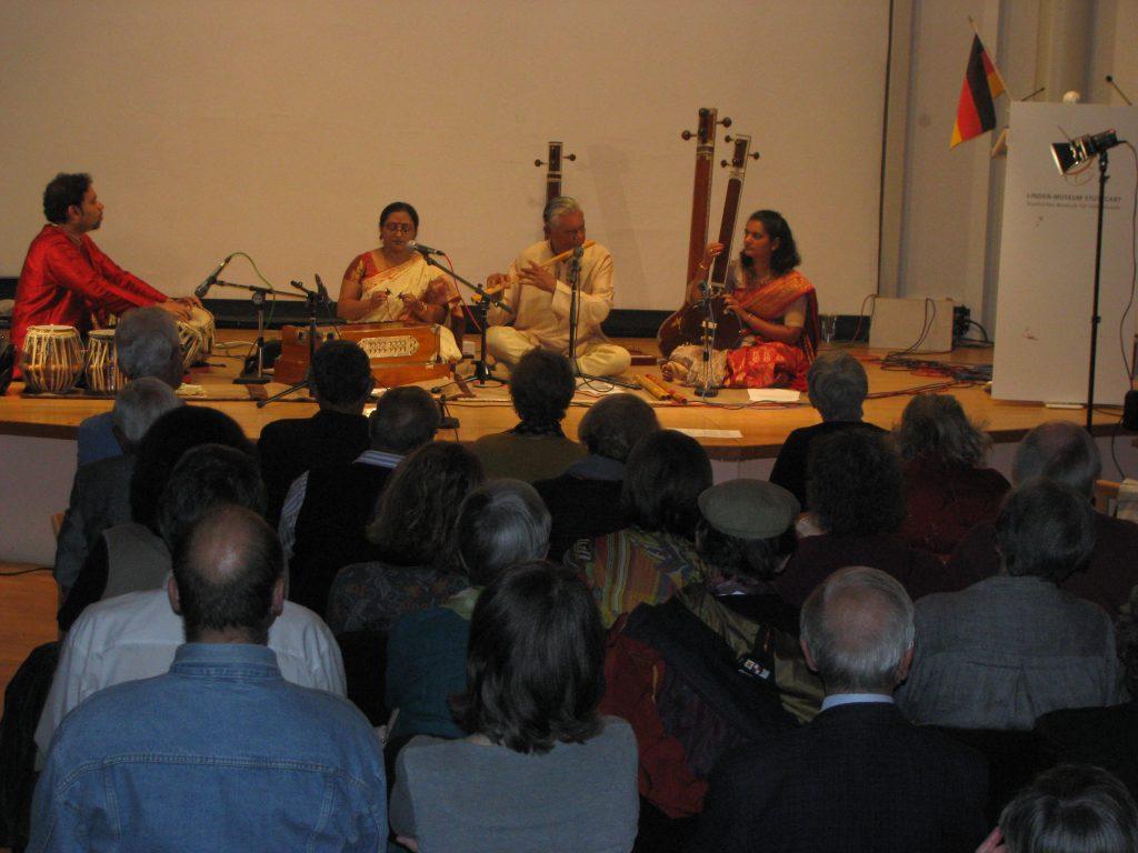 Indian Summer Concert Linden Museum Deutsch-Indische Gesellschaft e.V. (DIG) Stuttgart 2012