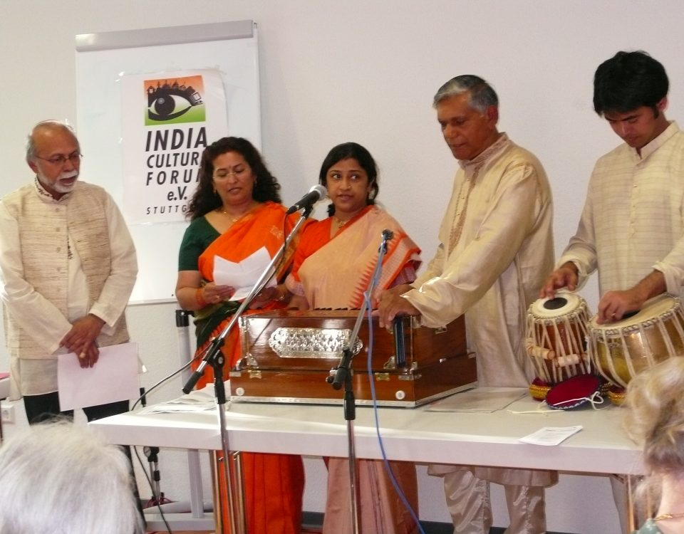 Tagore Birthday Celebration, Indian Culture Forum Stuttgart 2007