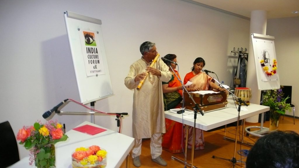 Tagore Birthday Celebration, India Culture Forum Stuttgart 2007