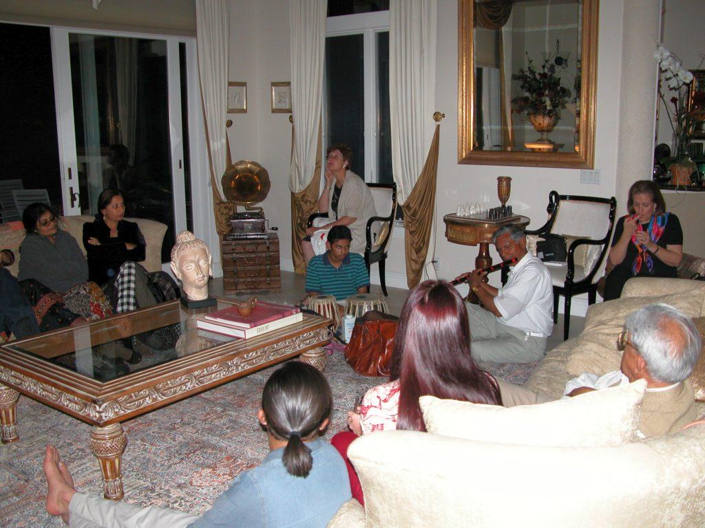 Home-Concert at Dr. Dandiya's Residence Florida USA 2003