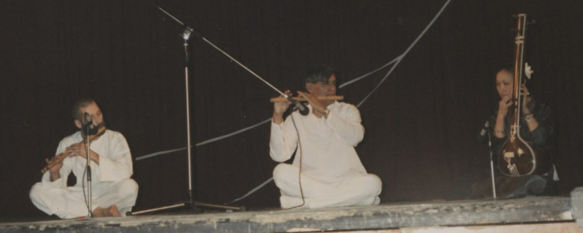 "Concert and Dance tour with German Indian Dance Group ""Nataraj"" of Berlin. Performance in St. Petersburg (Leningrad), Russia, 1991"