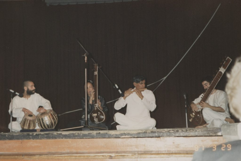 "Concert and Dance tour with German Indian Dance Group ""Nataraj"" of Berlin. Performance in Saint Petersburg (Leningrad), Russia, 1991"