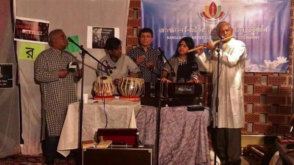 Celebration of International Bengali Language Movement Day – 21st February 2019 at Ludwigsburg Tamm, Organised by Bangladesh Artist Cultural Society, Germany